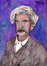 Cartoon: Mark Twain (small) by Pascal Kirchmair tagged mark twain portrait retrato pascal kirchmair caricature caricatura illustration dibujo drawing ritratto cartoon karikatur author schriftsteller ilustracion ilustracao illustratie tekening illustrazione zeichnung desenho cartum disegno dessin usa
