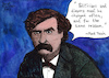 Cartoon: Mark Twain (small) by Pascal Kirchmair tagged mark,twain,samuel,langhorne,clemens,quote,zitat,zitate,quotes,citations,illustration,drawing,zeichnung,pascal,kirchmair,cartoon,caricature,karikatur,ilustracion,dibujo,desenho,ink,disegno,ilustracao,illustrazione,illustratie,dessin,de,presse,du,jour,art,of,the,day,tekening,teckning,cartum,vineta,comica,vignetta,caricatura,portrait,retrato,ritratto,portret,kunst,writer,author,autor,autore,auteur,schriftsteller,literature,literatur,huckleberry,finn,tom,sawyer,connecticut,humorist,humourist