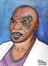 Cartoon: Mike Tyson (small) by Pascal Kirchmair tagged illustration,boxen,iron,mike,tyson,boxer,cartoon,caricature,portrait,karikatur,vignetta,weltmeister,schwergewicht,heavyweight,boxing,champion,brooklyn,new,york,city,usa