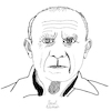 Cartoon: Pablo Picasso (small) by Pascal Kirchmair tagged pablo picasso cartoon caricature karikatur drawing zeichnung illustration illustrazione pascal kirchmair ilustracion portrait retrato dibujo desenho ritratto disegno ilustracao illustratie dessin du jour art of the day tekening teckning cartum vineta comica vignetta caricatura artist artista artiste kunst künstler maler painter peintre pintor pittore wacom cintiq 21 ux digital