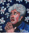 Cartoon: Pedro Almodovar (small) by Pascal Kirchmair tagged pedro almodovar cartoon caricature karikatur portrait dibujo dessin drawing desenho retrato pascal kirchmair