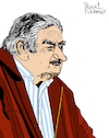 Cartoon: Pepe Mujica (small) by Pascal Kirchmair tagged jose,pepe,mujica,illustration,drawing,zeichnung,pascal,kirchmair,political,cartoon,caricature,karikatur,ilustracion,dibujo,desenho,ink,disegno,ilustracao,illustrazione,illustratie,dessin,de,presse,du,jour,art,of,the,day,tekening,teckning,cartum,vineta,comica,vignetta,caricatura,portrait,retrato,ritratto,portret,kunst,politiker,politician,politics,presidente,president,präsident,uruguay,wisdom,wise,sagesse,weisheiten
