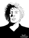 Cartoon: Philip Glass (small) by Pascal Kirchmair tagged philip,glass,illustration,drawing,zeichnung,pascal,kirchmair,cartoon,caricature,karikatur,ilustracion,dibujo,desenho,ink,disegno,ilustracao,illustrazione,illustratie,dessin,de,presse,du,jour,art,of,the,day,tekening,teckning,cartum,vineta,comica,vignetta,caricatura,portrait,retrato,ritratto,portret,kunst,minimal,music,baltimore,maryland,composer,musician,musik,musiker,komponist,usa,porträt