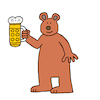 Cartoon: Problembär (small) by Pascal Kirchmair tagged ursus,bavaricus,bayrischer,bär,bruno,jj1,tirol,tyrol,problembär,ours,bavarois,urso,orso,bavaro,oso,bavarese,humor,humour,gag,umorismo,umore,spirito,lustig,cartoon,caricature,karikatur,pascal,kirchmair,illustration,drawing,zeichnung,political,politische,ilustracion,dibujo,desenho,ink,disegno,ilustracao,illustrazione,illustratie,dessin,de,presse,du,jour,art,of,the,day,tekening,teckning,cartum,vineta,comica,vignetta,caricatura,esprit,witz