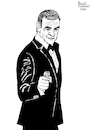 Cartoon: Sean Connery (small) by Pascal Kirchmair tagged sir,thomas,sean,connery,scotland,scotsman,scottish,scot,schotte,schottland,highlander,schauspieler,james,bond,actor,acteur,highlands,artist,art,hollywood,parasite,screenwriter,illustration,drawing,zeichnung,pascal,kirchmair,cartoon,caricature,karikatur,ilustracion,dibujo,desenho,ink,disegno,ilustracao,illustrazione,illustratie,dessin,de,presse,du,jour,of,the,day,tekening,teckning,cartum,vineta,comica,vignetta,caricatura,portrait,porträt,portret,retrato,ritratto,007,academy,awards,oscar,oscars,edinburgh,sexiest,man,alive,century
