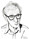 Cartoon: Woody Allen (small) by Pascal Kirchmair tagged woody,allen,portrait,retrato,drawing,illustration,zeichnung,ilustracion,ilustracao,dibujo,desenho,dessin,disegno,pascal,kirchmair,illustratie,illustrazione,tekening,teckning,ritratto