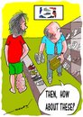 Cartoon: shopping 4 shoes (small) by kar2nist tagged filariasis shoe purchase swelling