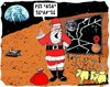 Cartoon: Taken 4 a ride (small) by kar2nist tagged xmas,santa,reindeer,earth,mars,lost,rider