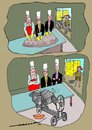 Cartoon: takes the cake (small) by kar2nist tagged cake,mixing,xmas,hotels,concretemixing