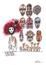 Cartoon: masks business (small) by axinte tagged axi