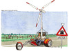 Cartoon: Nordwind (small) by Niessen tagged energy,cars