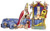 Cartoon: Santo Puttaniere (small) by Niessen tagged saint,bitch,pope,berlusconi,holy,madonna,hure,hurenbock,papst,jungfrau,maria