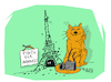 Cartoon: Tour (small) by mitya_kononov tagged cat,mityacartoon,mouse