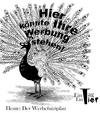 Cartoon: Der Werbefutzipfau (small) by Mistviech tagged tiere,natur,werbung,brautwerbung,marketing,werbefutzi,design,pfau