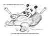 Cartoon: One for the Elephants (small) by kullatoons tagged panda,elephant,ivory,tusks,endangered