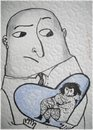 Cartoon: Big love (small) by galina_pavlova tagged relationship