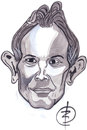 Cartoon: Tony Blair (small) by Strassengalerie tagged england,prime,minister