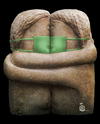 Cartoon: the kiss (small) by drljevicdarko tagged grippe