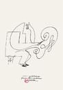 Cartoon: Herme pour Herme (small) by Herme tagged herme,cartoonist,portrait