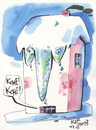 Cartoon: Cold. Runny nose. Cough (small) by Kestutis tagged schnupfen,cold,runny,nose,cough,winter,disease,medicine,kestutis,lithuania