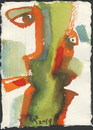 Cartoon: Communication 6 (small) by Kestutis tagged communication,postcard,watercolor,kestutis,lithuania