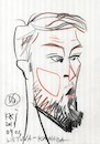 Cartoon: Domantas Sabonis (small) by Kestutis tagged sketch,china,fiba,basketbal,lworld,cup,episode,kestutis,lithuania
