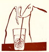 Cartoon: Drinker (small) by Kestutis tagged kestutis lithuania