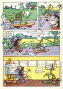 Cartoon: Exhibition of drawings Horizon (small) by Kestutis tagged comic,strip,kinder,kids,child,kind,education,children,kestutis,siaulytis,lithuania,adventure