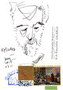 Cartoon: Ryszard (small) by Kestutis tagged sketch,dada,postcard,cartoon,art,kestutis,lithuania,gdansk