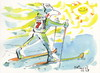 Cartoon: Winter Olympic calendar (small) by Kestutis tagged calendar,winter,olympic,start,snow,sochi,2014,sports,skiing,sun,kestutis,siaulytis