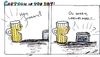 Cartoon: Hey Johnny! (small) by al_sub tagged swiss,army,food,johnny,tin,hero,dose
