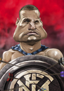Cartoon: Nemanja Vidic (small) by StajevskiArt tagged vidara