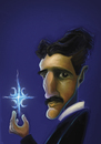 Cartoon: Nikola Tesla (small) by StajevskiArt tagged nikola,tesla
