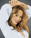 Cartoon: Mariah Carey (small) by cartoon photo tagged mariah carey cartoon photo cartoonized cartoonization world celebrity female woman singer