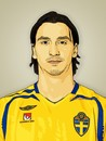 Cartoon: Zlatan Ibrahimovic (small) by cartoon photo tagged cartoon photo zlatan ibrahimovic footballer soccer sportsman athlete cartoonized cartoonization