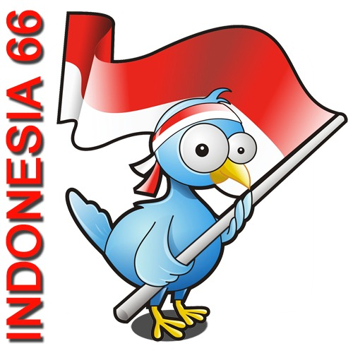 Cartoon: MERDEKA 66 (medium) by areztoon tagged indonesia66,merdeka,flag,icon,17an
