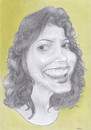 Cartoon: susan sarandon (small) by areztoon tagged caricature,susan,sarandon,colored,pencil