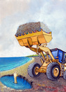 Cartoon: Loader (small) by luka tagged machine