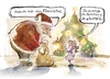 Cartoon: Einzelkind (small) by Stolle tagged christmas