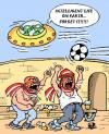 Cartoon: Hooligans... (small) by Vejo tagged sports,soccer,hooligans