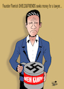Cartoon: They always come back... (small) by Vejo tagged racism,facism,nazism,extreem,right