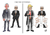 Cartoon: TRUMP... (small) by Vejo tagged trump,immigrants,press,democrats,north,korea,iran,europe,fbi