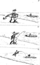 Cartoon: Falklands War 82 (small) by Alan tagged argentina,united,kingdom,falklands,war,82,galtieri,penguin