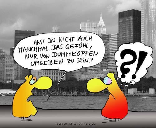 Cartoon: Dummköpfe (large) by BoDoW tagged überheblichkeit,überheblich,freundschaftsangebot,freundschaft,frust,geschwätz,kommunikationsproblem,kommunikation,beziehung,dummkopf