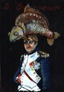 Cartoon: Emperor (small) by to1mson tagged napoleon,fish,ryba,hat,mütze,kapelusz,czapka