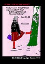 Cartoon: AM - Talking with Trees (small) by Age Morris tagged agemorris dating dateblab woman taltingtotrees talkingwithtrees treetalker shoesfornothing expensiveboots honest cheapboots