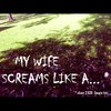Cartoon: MH - My wife screams like a... (small) by MoArt Rotterdam tagged google googlehits wife husband married marriage maritalissues scream mywifescreams manandwife