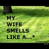 Cartoon: MH - My wife smells like a... (small) by MoArt Rotterdam tagged google googlehits manandwife marriage maritalissues mywifesmells smelllikea