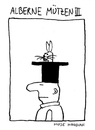Cartoon: Alberne Mützen III (small) by Huse Fack tagged hut mütze hase zauberer