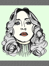 Cartoon: Madonna (small) by Vidal tagged madonna